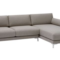 Chenille Sofa Fabric Care Pads For Carpet District 2-piece Sectional | Cb2