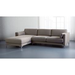 Left Arm Return Sofa Ikea Norsborg Usa District 2-piece Sectional With Chaise   Cb2