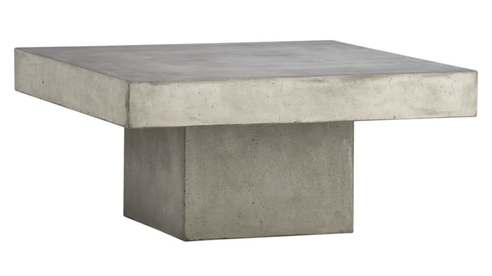 element cement top coffee table