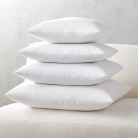 feather-down square pillow inserts | CB2