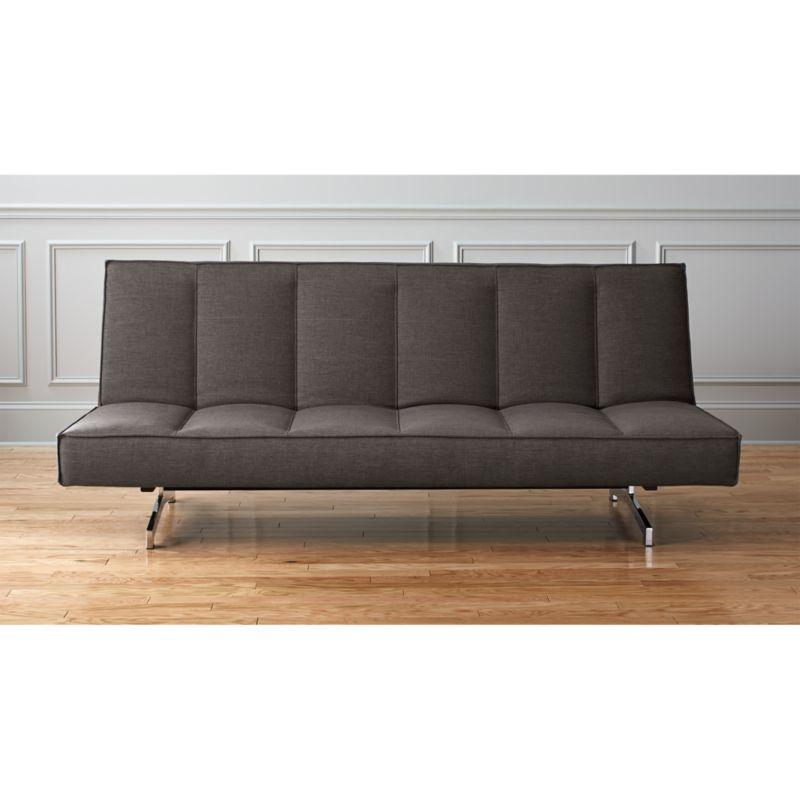 Flex Grey Queen Sleeper Sofa  Cb2
