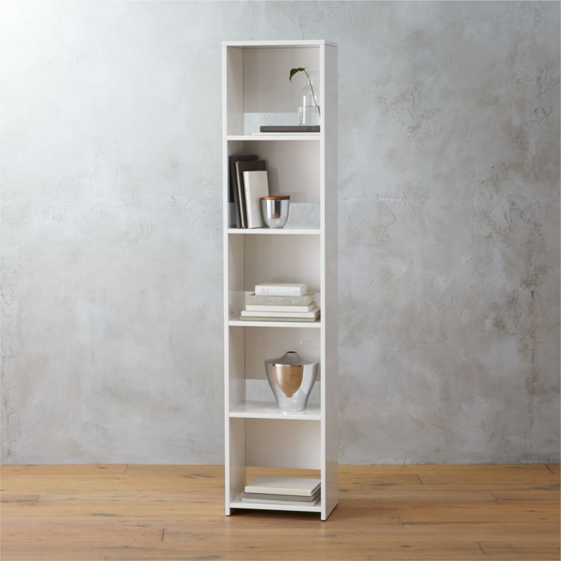bookcase cabinets living room caribbean decorating ideas for rooms getaway narrow + reviews | cb2