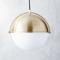 globe pendant light | CB2
