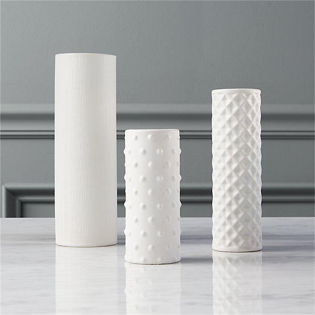 3 piece kitchen set cheap cabinet doors 3-piece hat trick vase | cb2