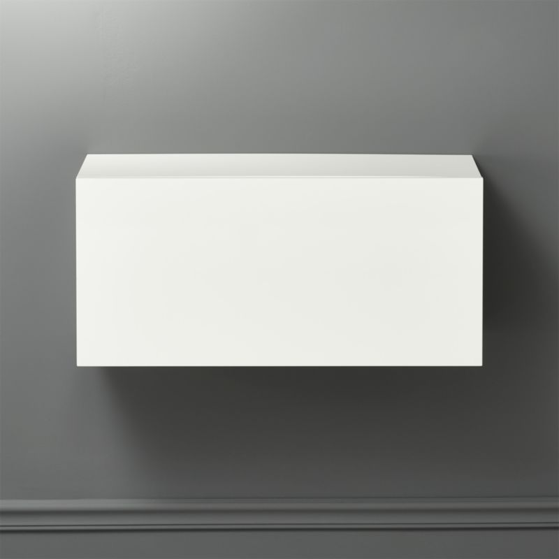 hyde white 30 small wall mounted cabinet in storage