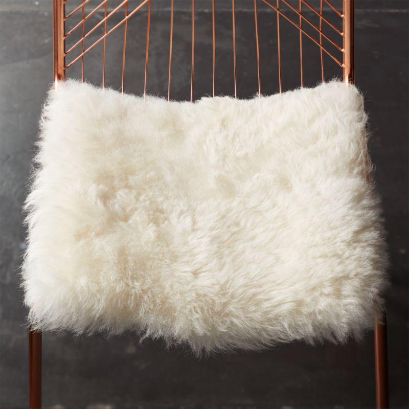 icelandic sheepskin chair cover  Reviews  CB2