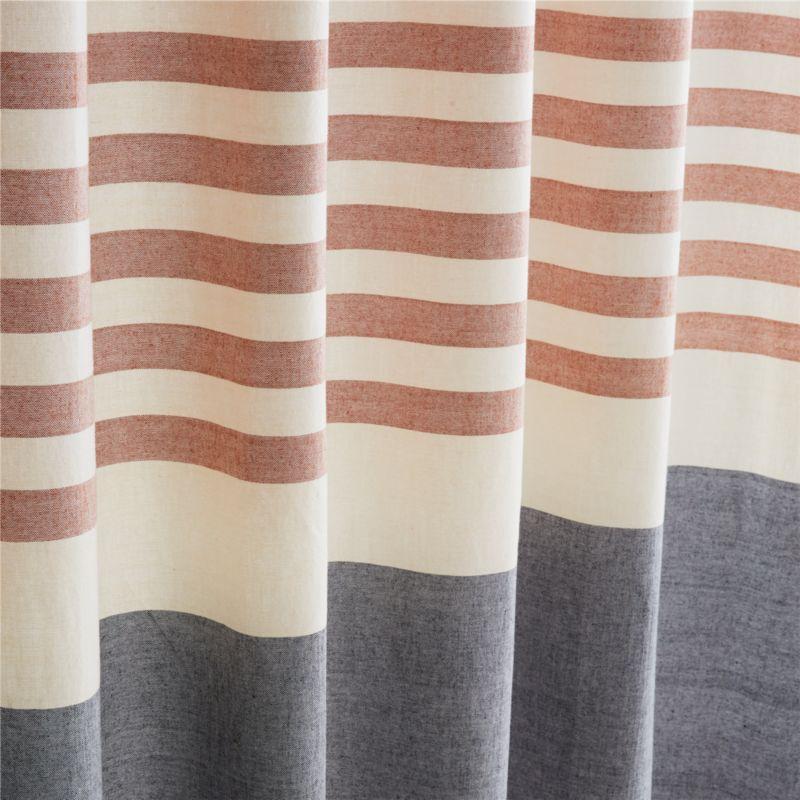 karla copper shower curtain  Reviews  CB2