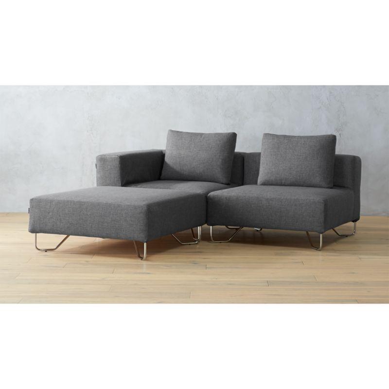 broyhill laramie sofa fabric kivik ikea three piece sectional benchcraft justyna contemporary ...