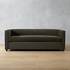 Cb2 Piazza Sofa Review Set With Bed Movie Queen Sleeper