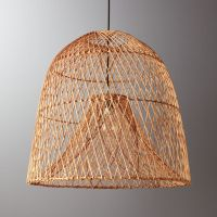 Nassa Basket Pendant Light + Reviews | CB2