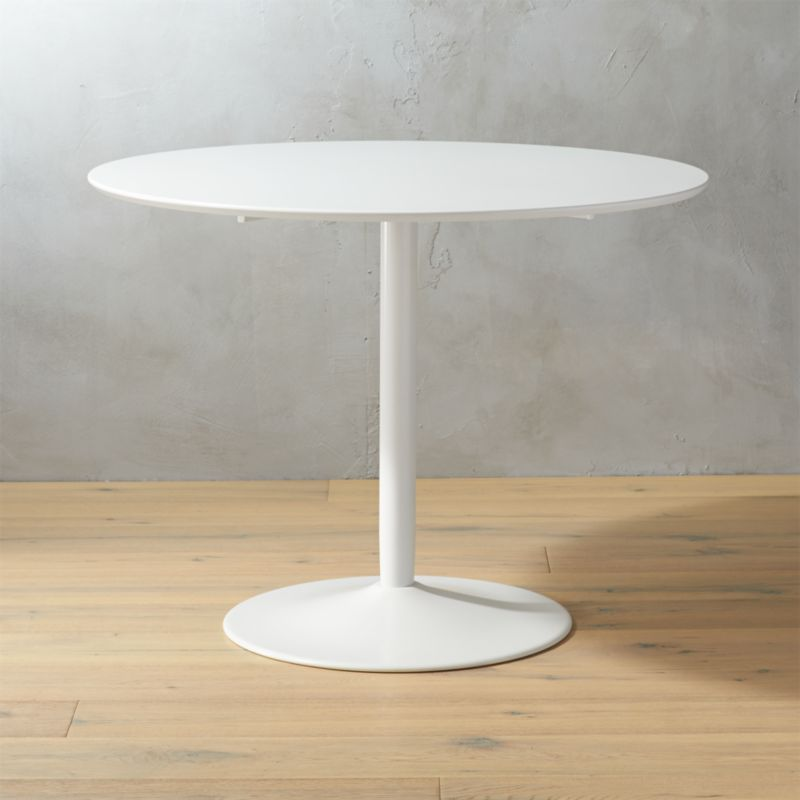 odyssey white tulip dining table  Reviews  CB2