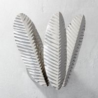 palm frond wall sconce | CB2