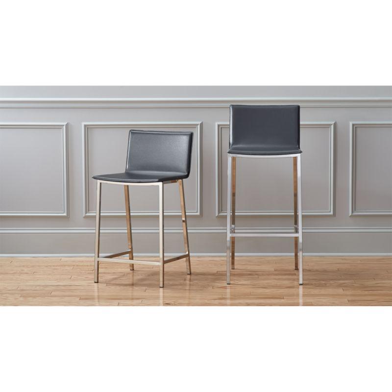 phoenix carbon bar stools  CB2