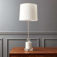 Siena Marble Base Table Lamp | CB2