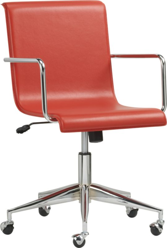 office chair customer reviews proper posture desk modern home ratings on cb2 surf product read top