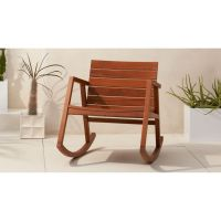 valalta outdoor wooden rocking chair | CB2