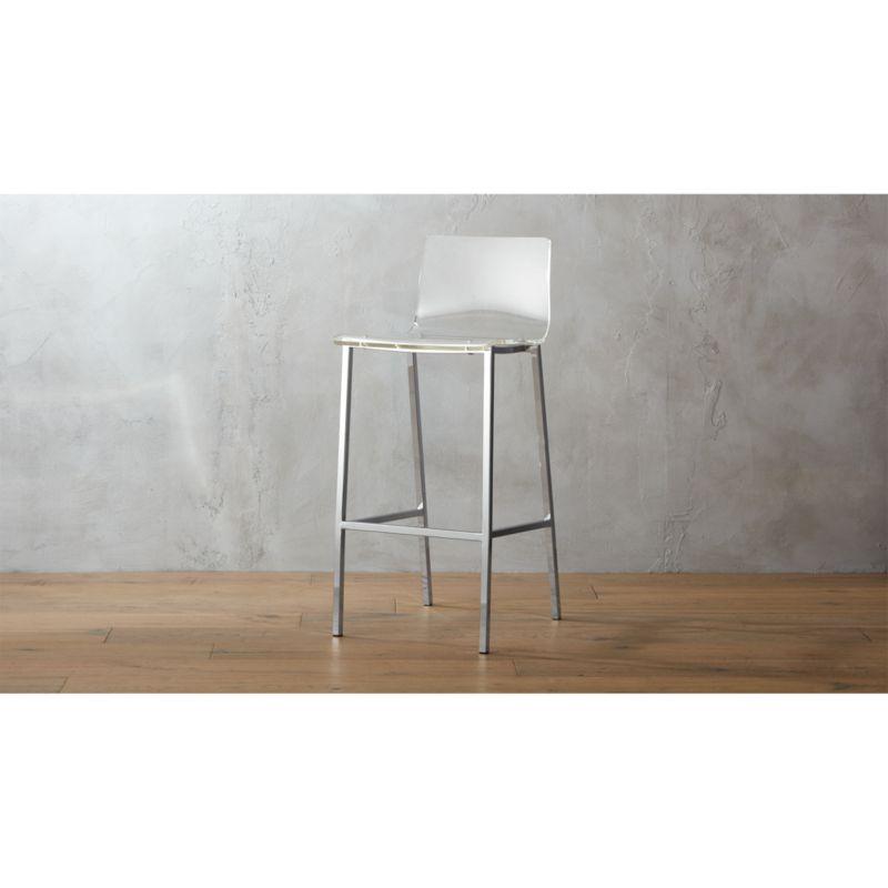 vapor 30 acrylic bar stool  Reviews  CB2