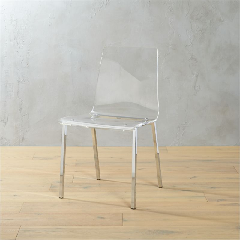 vapor acrylic chair in accent chairs  Reviews  CB2