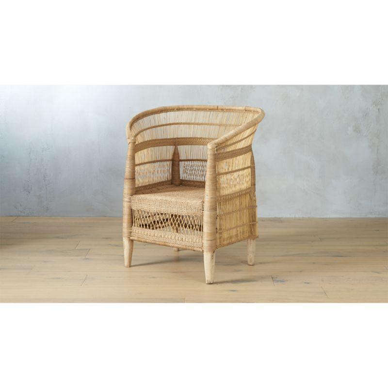 woven malawi chair  Reviews  CB2