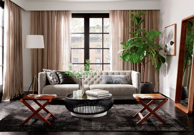 small space living room makeover Living Room Makeover Ideas | CB2 Blog