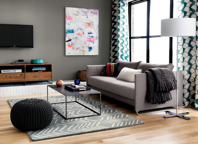 mill iron coffee table  Reviews  CB2