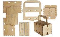 Wood 6-Pack Beverage Holder | Idea Central - CB2 Blog