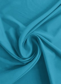 Horizon Blue Crepe Fabric Faux Blended Solids
