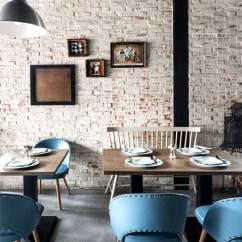Kitchen Flooring Trends Kitchens And Baths 台中gatto Bianco复古怀旧的砖墙风咖啡馆设计(组图) -- 中国建筑装饰网
