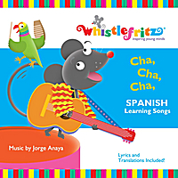 Whistlefritz: Jorge Anaya | Cha, Cha, Cha (Spanish learning songs/Canciones infantiles)