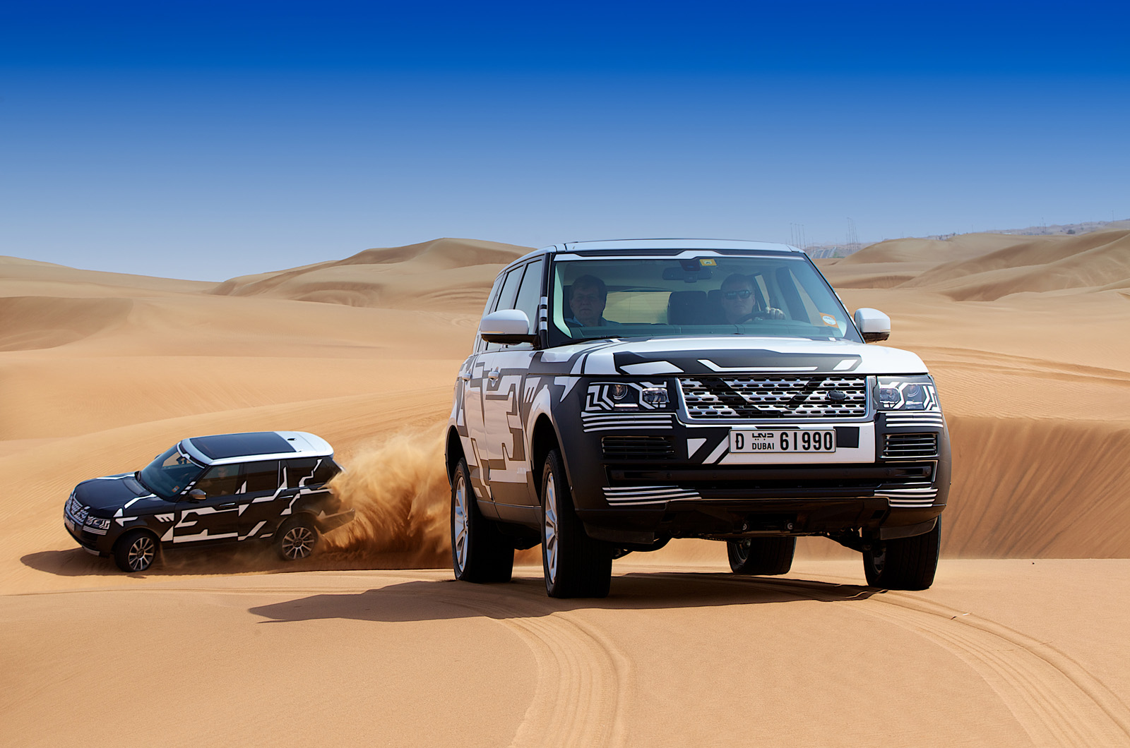 New Range Rover 4: we ride shotgun on and off road
