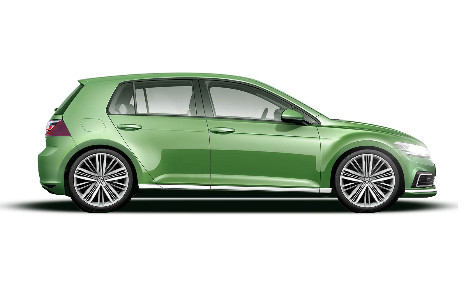 hight resolution of the new car is also said to have more pronounced wheel arches and a heavily defined side swage line in combination with typically wide c pillars and a