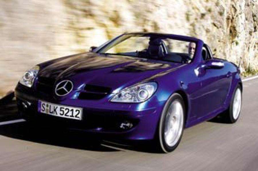 Mercedesbenz Slk350 Convertible First Drive