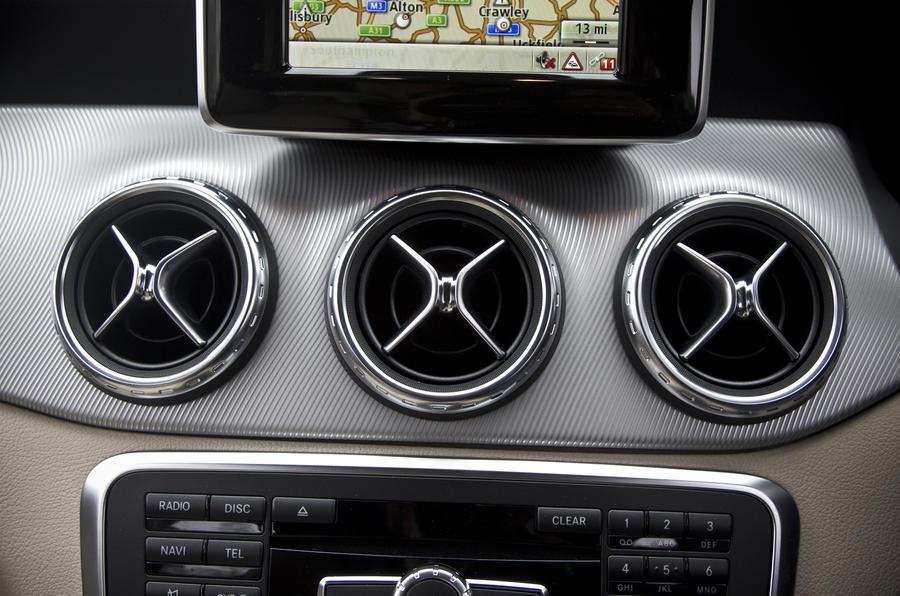 MercedesBenz GLA interior  Autocar