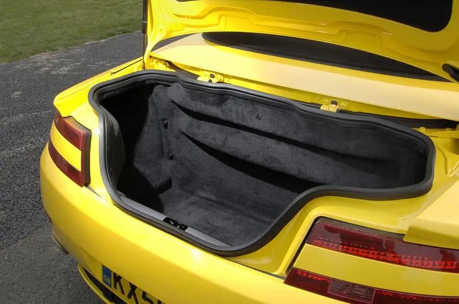 Aston Martin Vantage Roadster Interior Autocar
