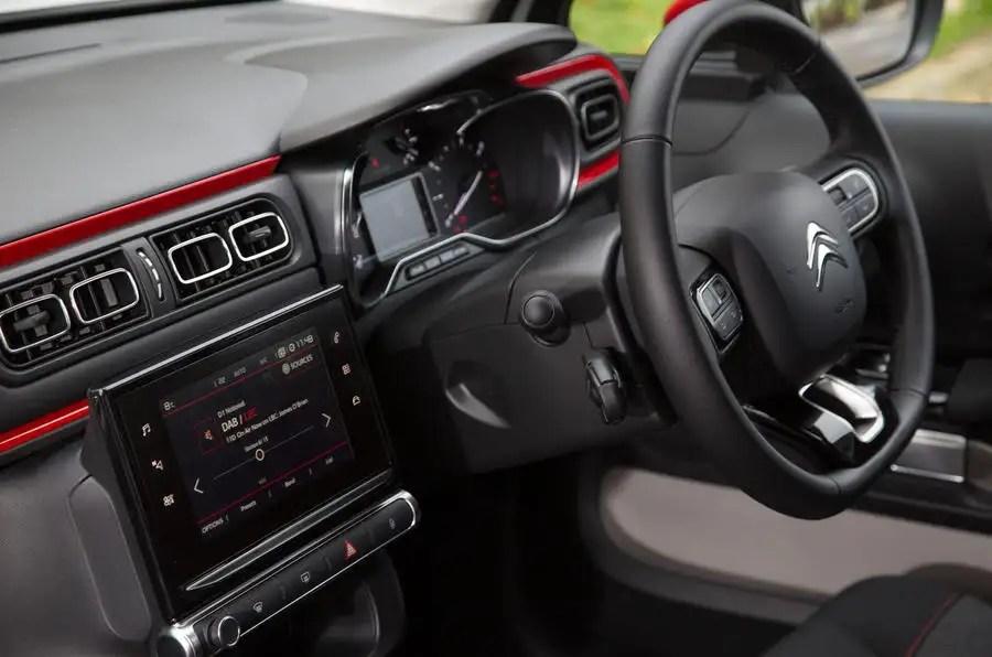 Citroen C3 interior  Autocar