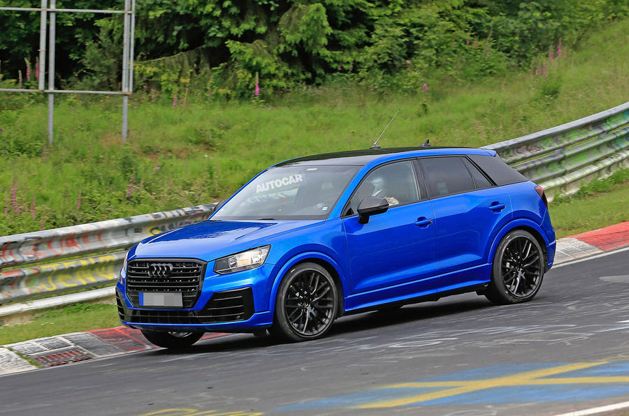 Audi SQ2 Breaks Cover At The Nrburgring With Up To 300bhp Autocar