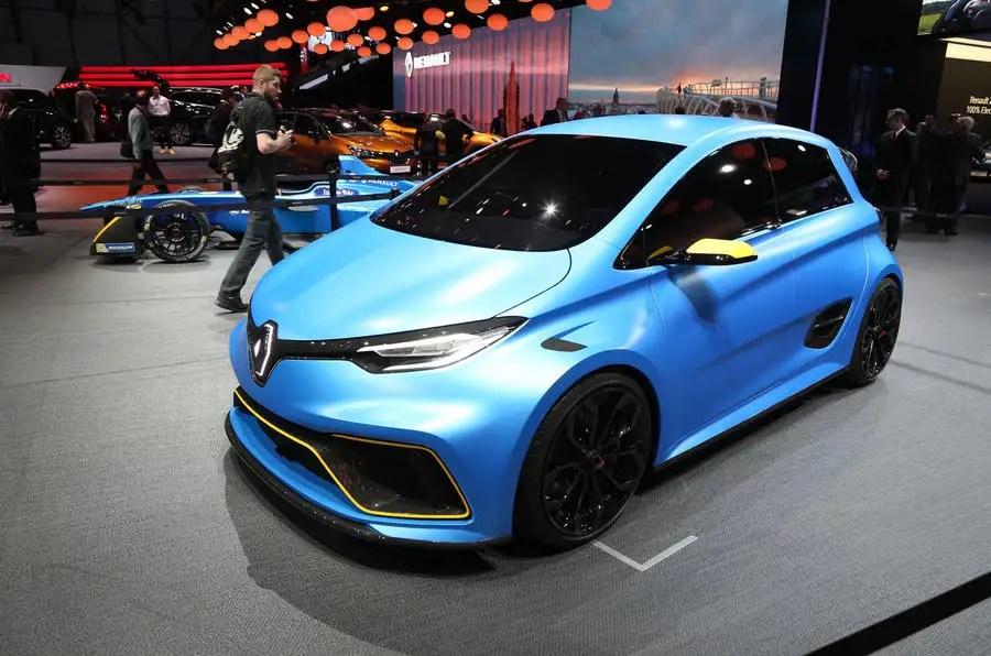 Hot Renault Zoe esport gets 460bhp  Autocar