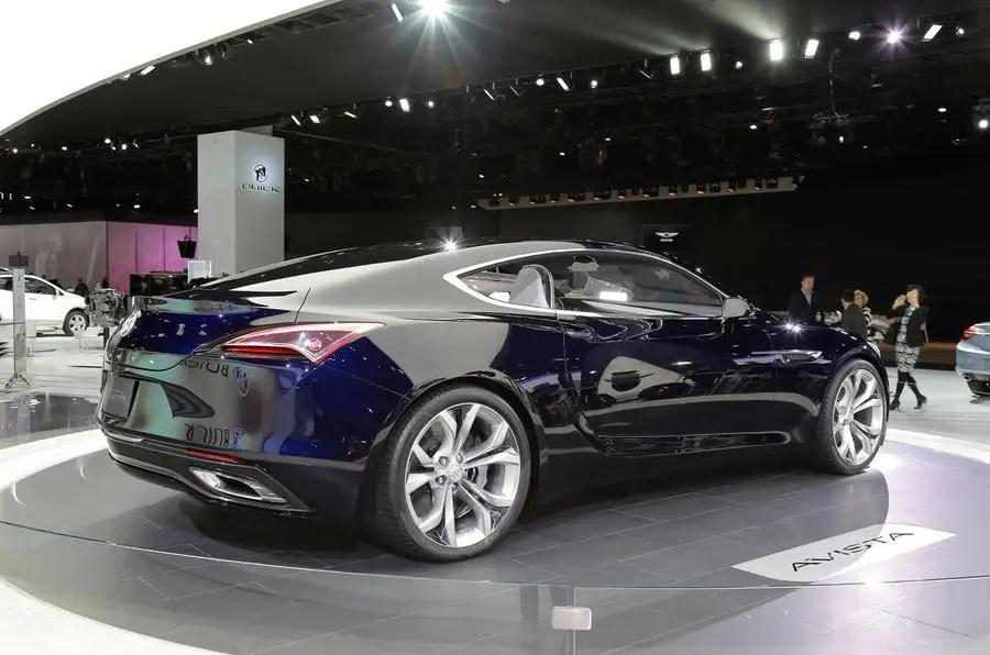 400bhp Buick Avista Concept Revealed In Detroit Autocar