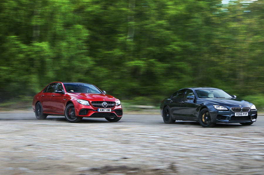Mercedes AMG E 63 Vs Audi RS7 Sportback Lexus GS F BMW