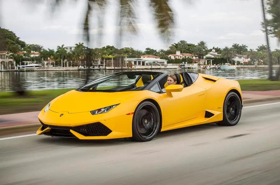 2016 Lamborghini Huracán Lp6104 Spyder Review Review