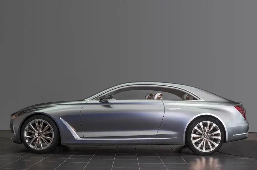 Hyundai Vision G Concept Previews New Genesis Coup