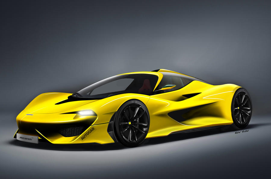 New 3 Seat Mclaren F1 Coming?