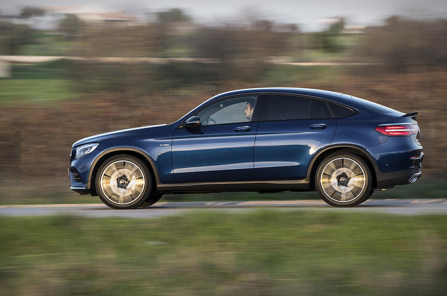 2016 Mercedes AMG GLC 43 Coupe Review Review Autocar