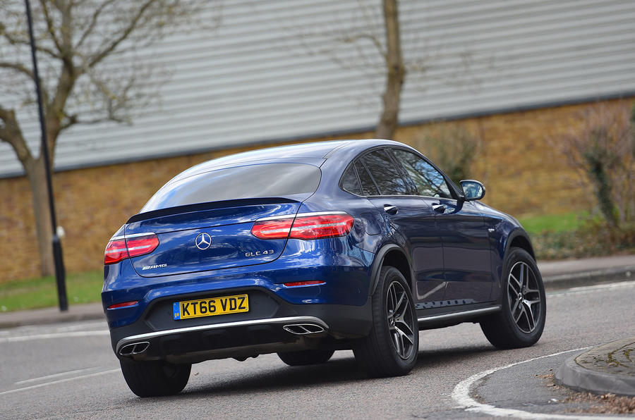 Mercedes AMG GLC 43 Coupe 2017 Review Autocar