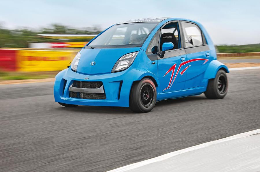Video Wild Bikeengined Tata Nano With 200bhp Driven