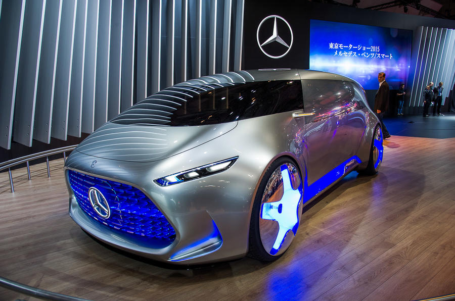 Future Cars 2018 Wallpapers Mercedes Benz Vision Tokyo Concept Revealed Autocar