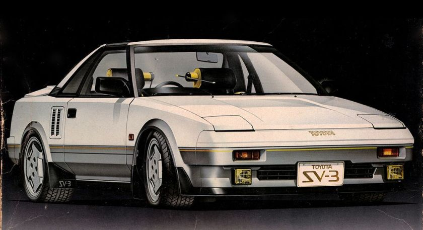 1983 Toyota SV-3, Absolutely brilliant design if you ask me.