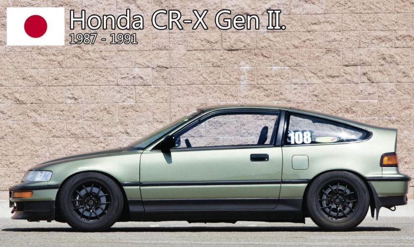 Honda - The polyvalent Honda CR-X. - Blog