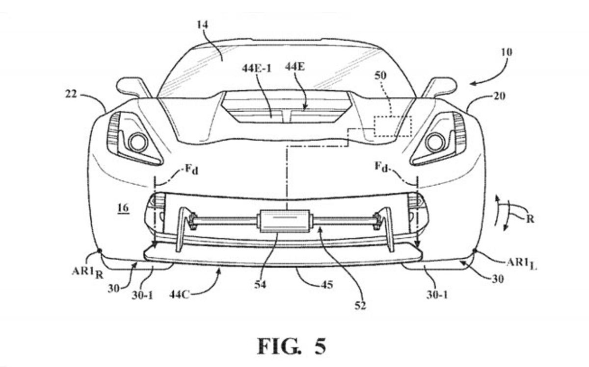 The Next Corvette may be Getting Active Aerodynamics