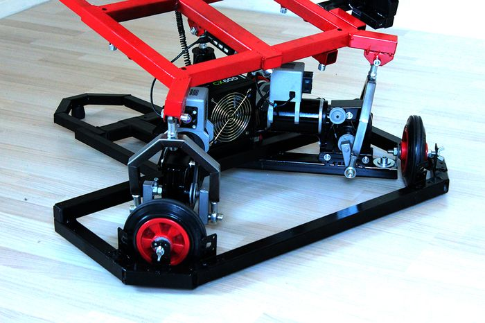 hydraulic racing simulator chair used wheelchair van the racingcube is world s first affordable motion photo credit fasetech